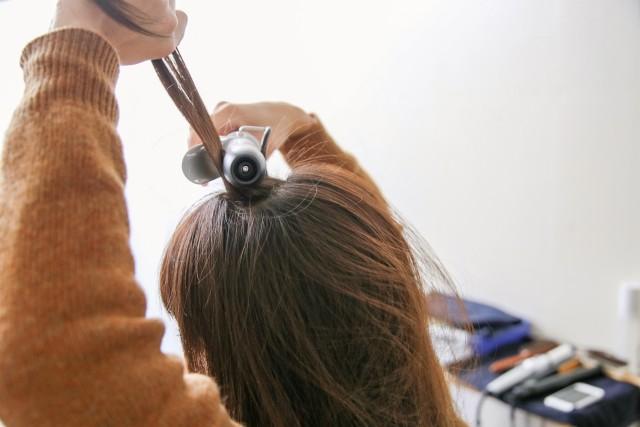 ひし形シルエットの髪型_2