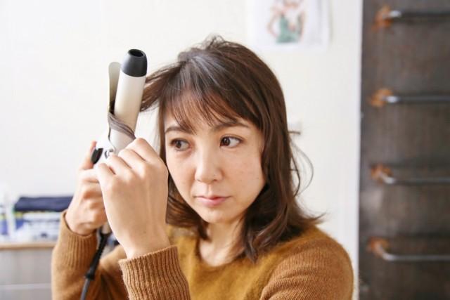 ひし形シルエットの髪型_3