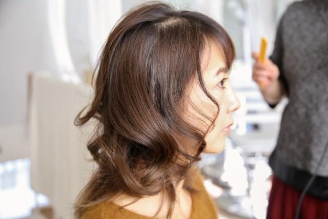 ひし形シルエットの髪型_5