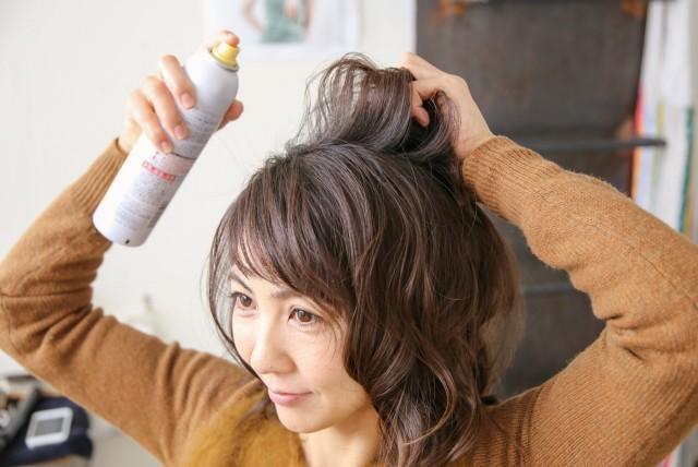 ひし形シルエットの髪型_6