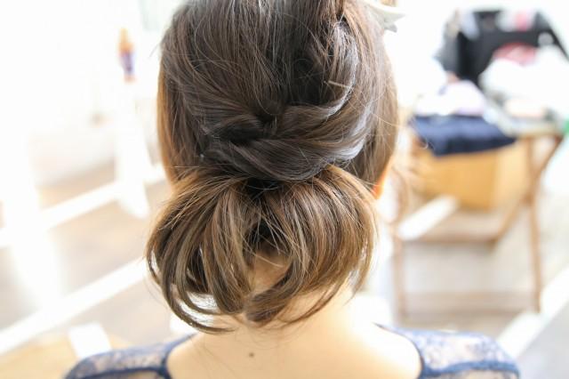 ミディアムヘアのヘアアレンジ