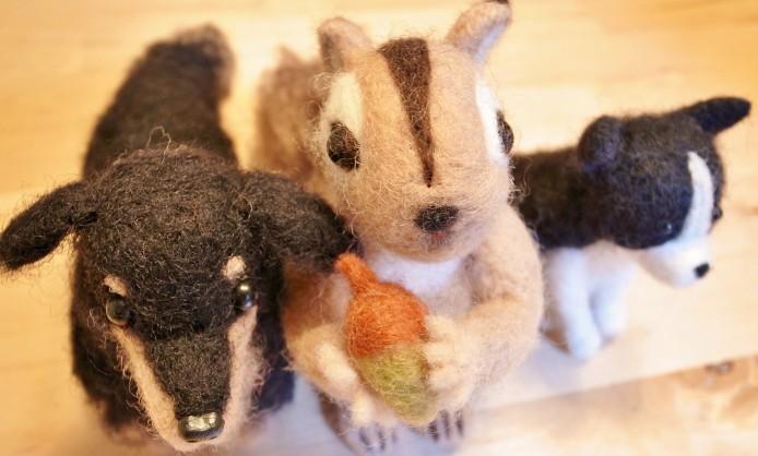 意外と簡単! あったかかわいい羊毛フェルトで小物を作ってみよう♪