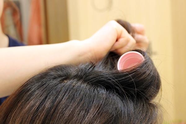 ショートヘアのヘアアレンジ_2