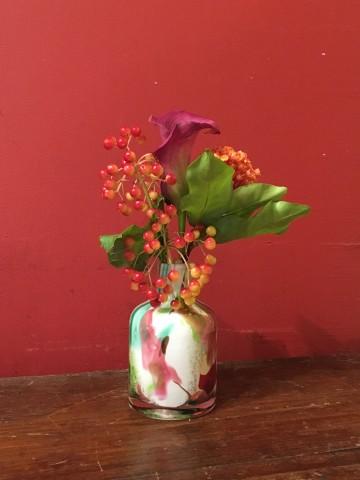 綺麗に彩られた花