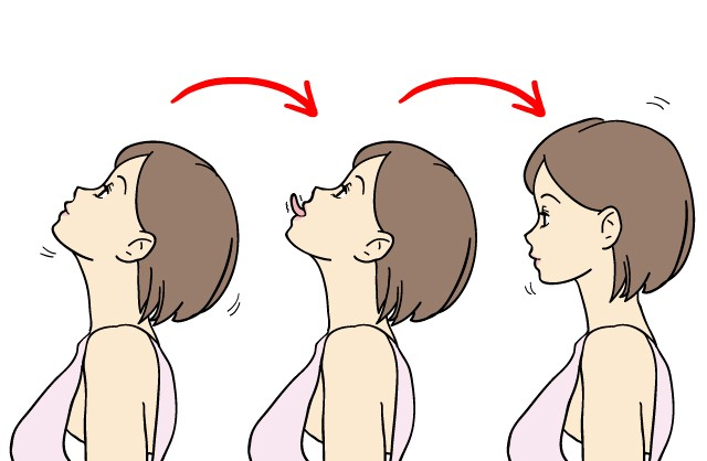 あごの下骨筋を鍛えるトレーニング